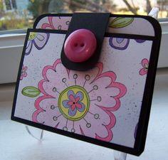 Gift card holder wallet!