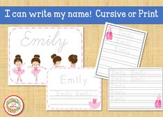 Name Tracing Handwriting Worksheet | First Grade Letter Writing Paper | Custom Name Writing Worksheet | Handwriting Practice Learning To Write, Learning Resources, Teaching Ideas, Handwriting Worksheets, Handwriting Practice, Kindergarten Blogs, Name Tracing, School Reviews, Learn To Spell