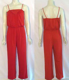 Vintage 80s Glitter Jumpsuit