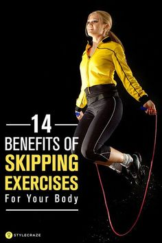Skipping is no new age trendy exercise. In fact, it has been there for years now. Unfortunately, as we grew up, the rope got lost somewhere in our store room. This article will tell you why the skipping rope must make a comeback in your life. 14 Amazing Benefits Of Skipping Exercises For Your Body