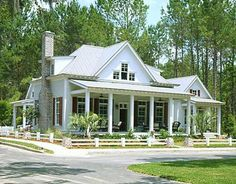 country cottage with gorgeous interior photos and floor plans