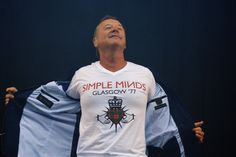 """OMG! I want him!! simple minds jim kerr live at t in the park festival concert  concert scotland gigs in scotland"""""""