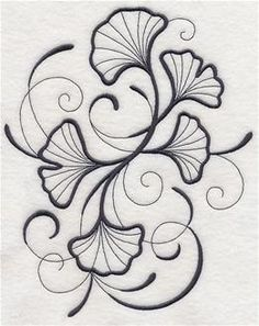 Machine Embroidery Designs at Embroidery Library! - Leaves