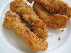 Enjoy the KFC Original Crispy Strips? Here is the recipe. It is the same as the Extra Crispy  chicken recipe. The soft chicken flesh and...