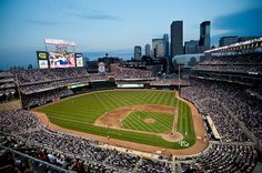 Target Field, MN - heading to the Twins / Yankees game prior to heading to Boston