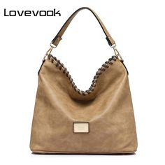 LOVEVOOK brand large capacity women shoulder bag female casual tote hobos handbag famous brands high quality messenger bags-Totes-Uchumiplus-Uchumiplus