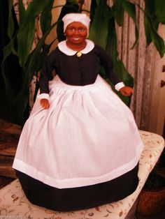 "Gone With the Wind ~ ""MAMMY"" Doll ~ By The Franklin Mint ~ 1989"