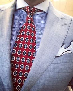 Dressing and accessorizing well.