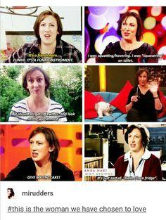Super Funny Memes, It's Funny, Funny Stuff, British Sitcoms, British Comedy, Sarah Hadland, British Humour, Tv Memes