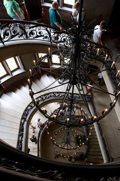 Grand Staircase, Fourth Floor, Biltmore Estate