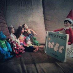 Elf on shelf story time