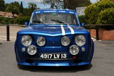 RENAULT 8 GORDINI CIRCUIT LE LUC 83340 by guillaumeseverin, via Flickr