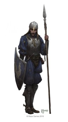 Orcquest, the Guards - Eastern Empire Dungeons And Dragons Characters, Dnd Characters, Fantasy Characters, Fantasy Armor, Medieval Fantasy, Dark Fantasy, Fantasy Character Design, Character Design Inspiration, Character Art