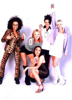 The Spice Girls-costume ideas for mel's stagette