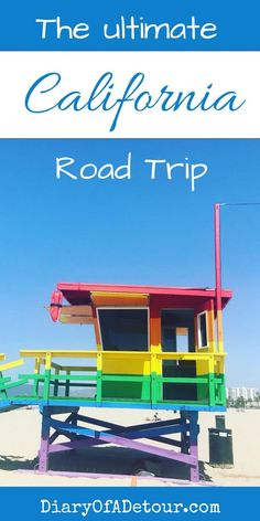 A California road trip should be on everyone's bucket list! Read about how to plan the holiday of a lifetime... #california #road #trip