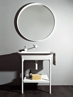 CONSOLE WASHBASIN MORPHING CONSOLLE MORPHING COLLECTION BY KOS BY ZUCCHETTI   DESIGN LUDOVICA+ROBERTO PALOMBA