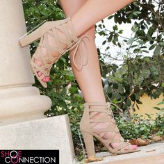 SHOE~ SELF CONFIDENT  Show of that confidence of yours in these beauties!!!  25% off the ENTIRE WEBSITE! No code needed. Price are as shown on the website.  www.shopshoeconnection.com ✔️ #shopshoeconnection #shoeconnection #heelaholic #fashion #fabulous #heels #laceup #zipup #selfconfident #heelgame