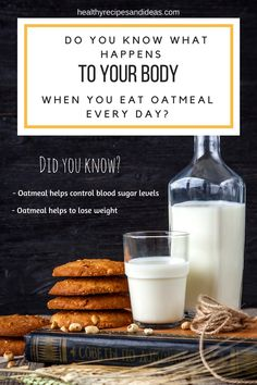 Do You Know What Happens To Your Body When You Eat Oatmeal Every Day?