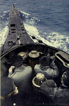 U-boat in color.