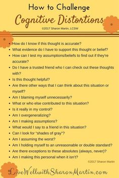 Kids Health How to challenge Cognitive distortion or stinking negative thinking - You can challenge cognitive distortions and replace them with more realistic and accurate thinking using CBT or cognitive behavioral therapy. Counseling Activities, School Counseling, Group Therapy Activities, Counseling Worksheets, Coping Skills Activities, Cognitive Activities, Group Counseling, Family Activities, Mental Health Counseling