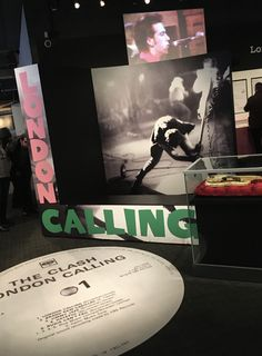 The Clash: London Calling Museum of London 15 November 2019 – 19 April 2020 The Golden Years, London Museums, The Clash, November 2019, London Calling, Image Photography, Music, Movie Posters, Musica