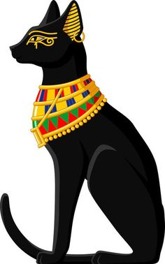 Egyptian Cat 3.5 inch Sticker Vinyl Decal Stickers die cut