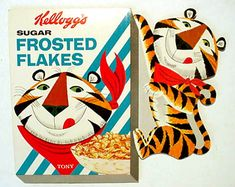 SUGAR frosted flakes  -  tonythetiger