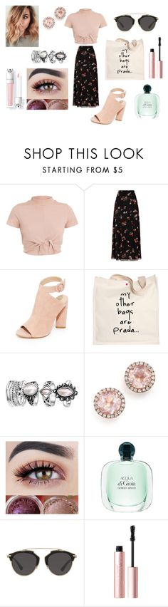"""walk in the park ❤️️"" by haileyy-865 ❤ liked on Polyvore featuring RED Valentino, Kendall + Kylie, Prada, Dana Rebecca Designs, Christian Dior and Too Faced Cosmetics"