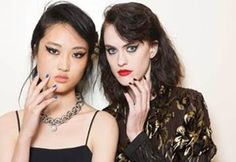 NYFW Beauty Recap: butter LONDON x Creatures of the Wind & Tadashi Shoji   See tutorials for the manis in the blog post!