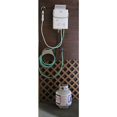 Hot water tank electrical hook up