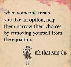it really is that simple! it might be tough at first, but you'll thank yourself in the end.