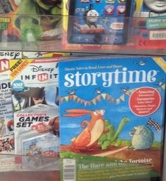 Storytime Issue 1 - spotted by a reader, Alison! Thanks, Alison! ~ STORYTIMEMAGAZINE.COM