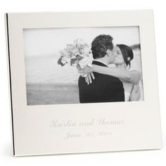 Gift for Parents? Silver-plated Frame - 4x6