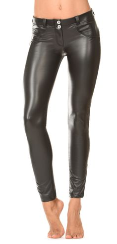 Just In time For  the season comes the Freddy WR.UP® Jersey pant that looks like leather.  This new creation from Freddy is a sophisticated and sexy addition to any wardrobe.