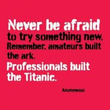 sayings, thoughts, hilarious quotes, food for thought, remember this, afraid, inspir, the professional, true stories