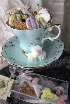 easter ~ tea