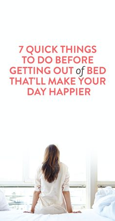 Quick things to do in the morning to wake up happier #Morning #Routines #Healthy #Happy #Habits #List
