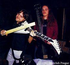 Lars Ulrich  and  Cliff Burton!!!!