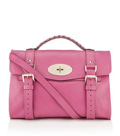 Mulberry-Raspberry Alexa Bag.