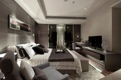 Contemporary yet versatile #bedroom