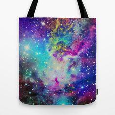Fox Nebula Tote Bag by Starstuff - $22.00