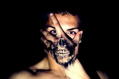 Skull on hand Tattoo - http://99tattooideas.com/skull-hand-tattoo/ #tattoo