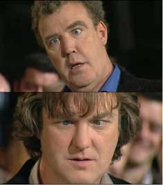 Top Gear- Jeremy Clarkson and James May