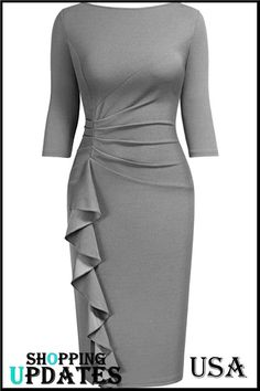 Latest African Fashion Dresses, African Dresses For Women, Classy Work Outfits, Classy Dress, Elegant Dresses, Casual Dresses, Sheath Dress, Bodycon Dress, Office Dresses For Women