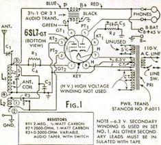 1948 One Tube Broadcast Set for Beginners | OneTubeRadio.com