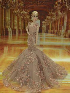 Evening Dress 45 for Fashion Royalty Silkstone Dolls by T D Fashion | eBay