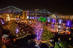 Expanding on the annual Blue Cross RiverRink and last year's holiday pop-up winter garden, the Waterfront Winterfest, the Blue Cross RiverRink Winterfest is one of Philadelphia's must-see holiday experiences.