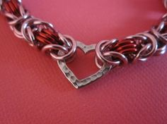 Filled with Love Byzantine Chain Maille Bracelet on Etsy, $25.56 CAD