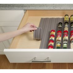 YouCopia SpiceLiner In-Drawer Spice Organizer