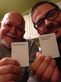 """Seriously. 